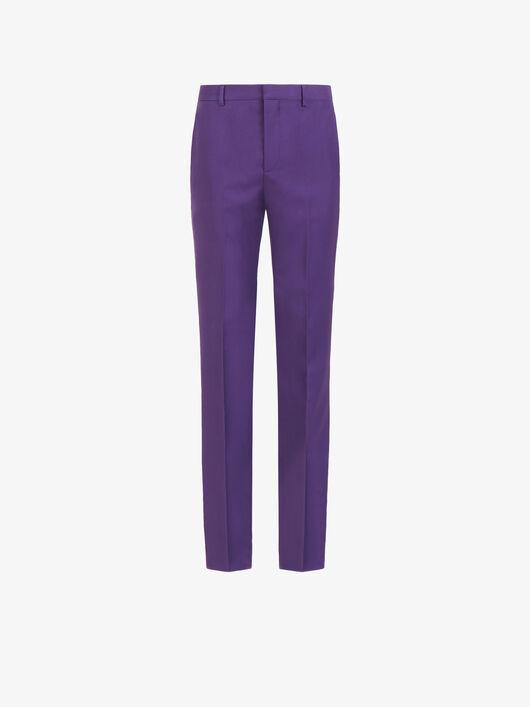 Pantaloni In Twill Di Lana - Givenchy