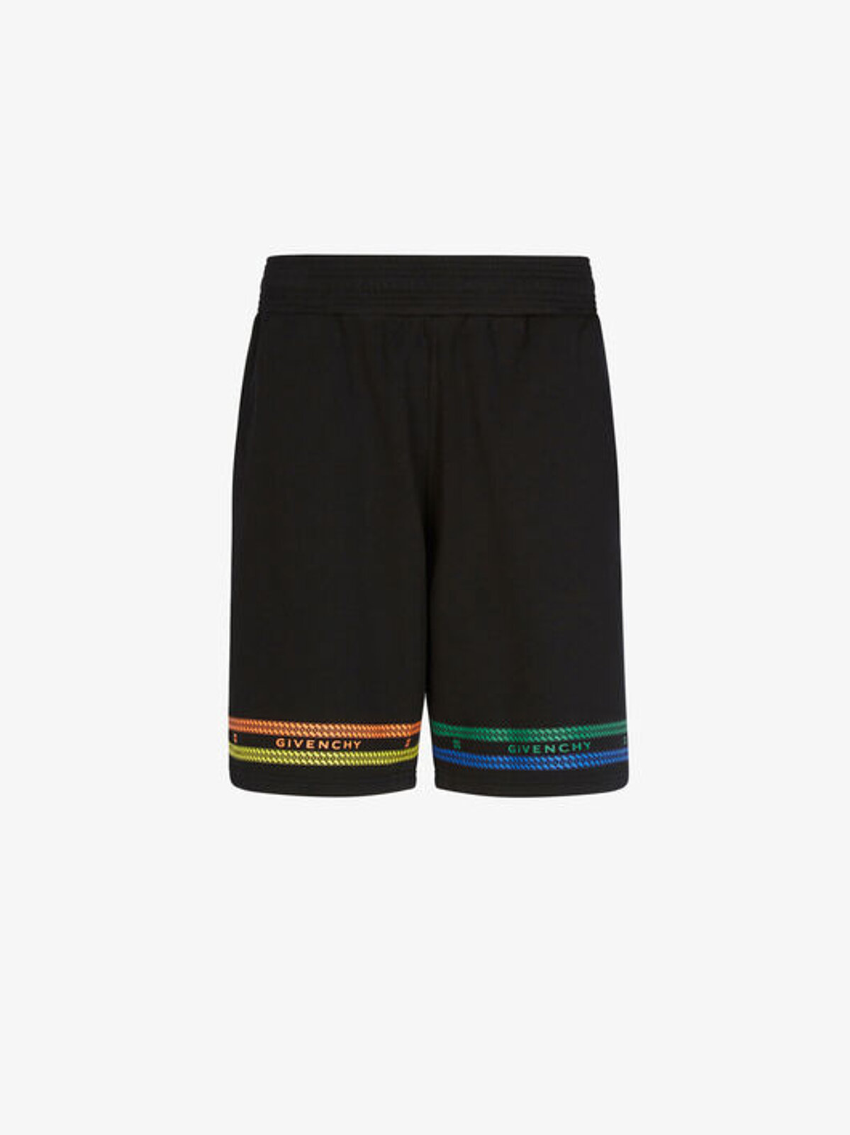 Bermuda shorts with multicolored GIVENCHY Chaine print - Givenchy