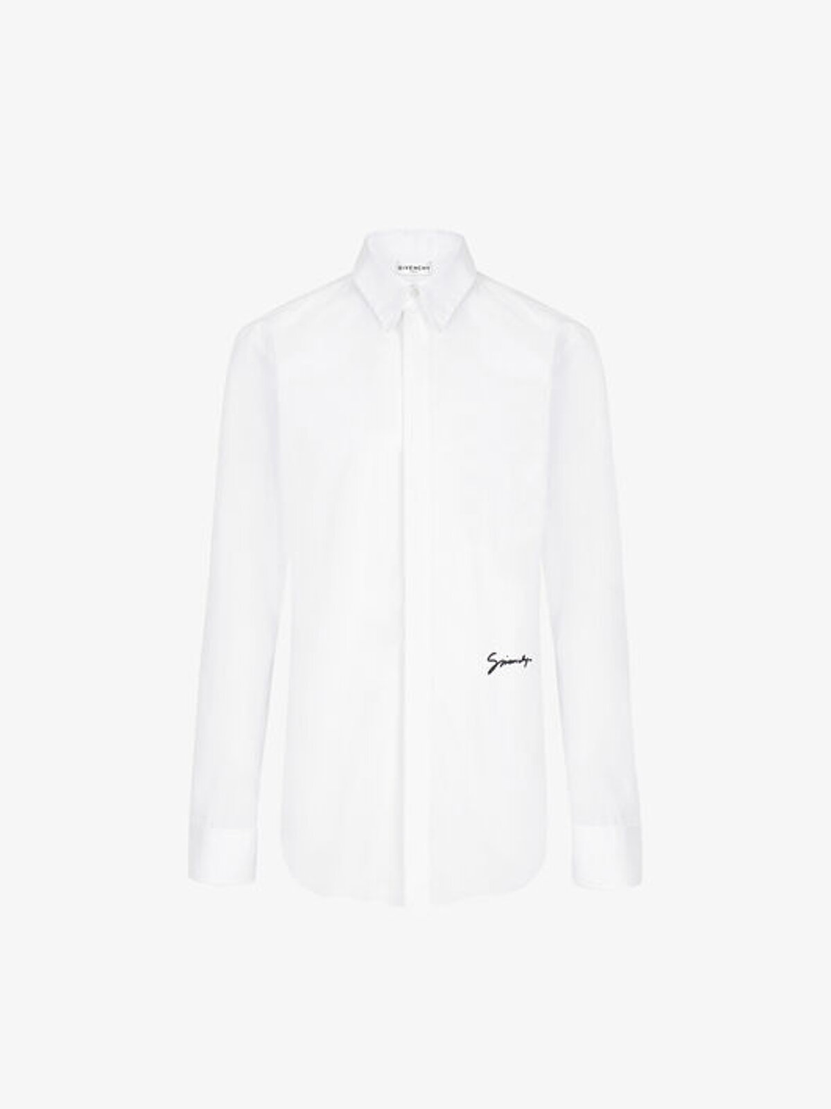 Camicia Slim Fit Con Firma Givenchy - Givenchy