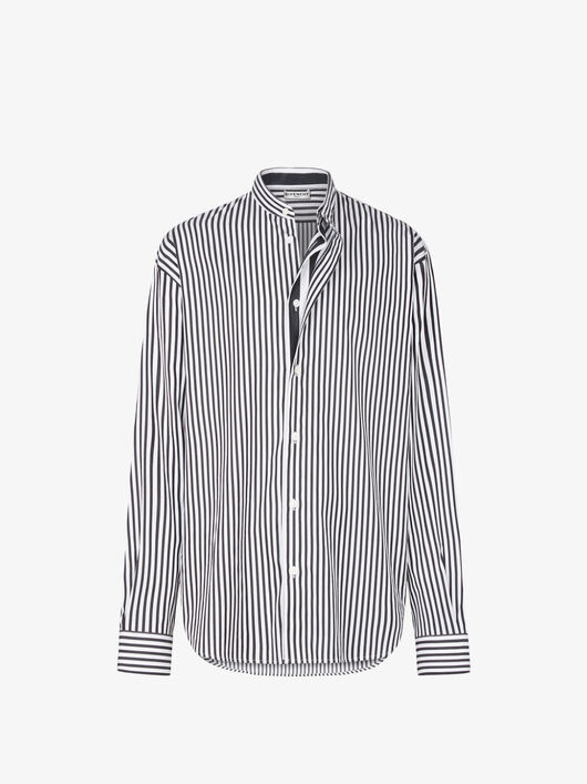 Camicia a righe con lembo sovrapposto - Givenchy