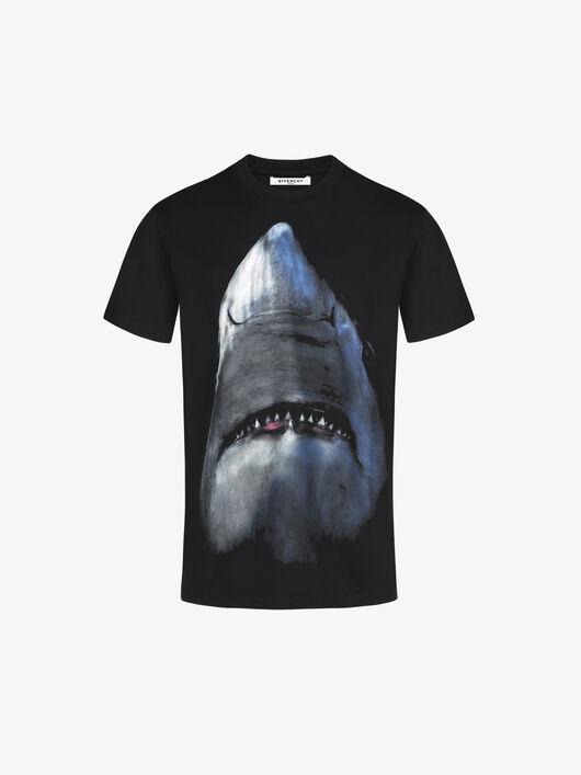 T-Shirt Con Stampa Shark - Givenchy