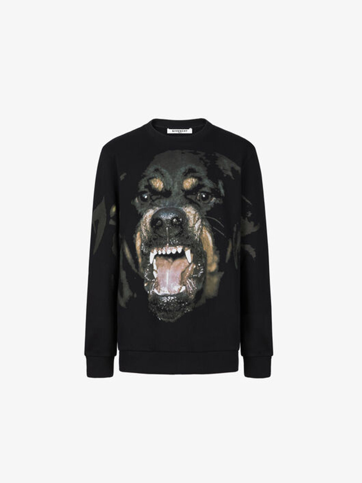 Felpa Con Stampa Rottweiler - Givenchy