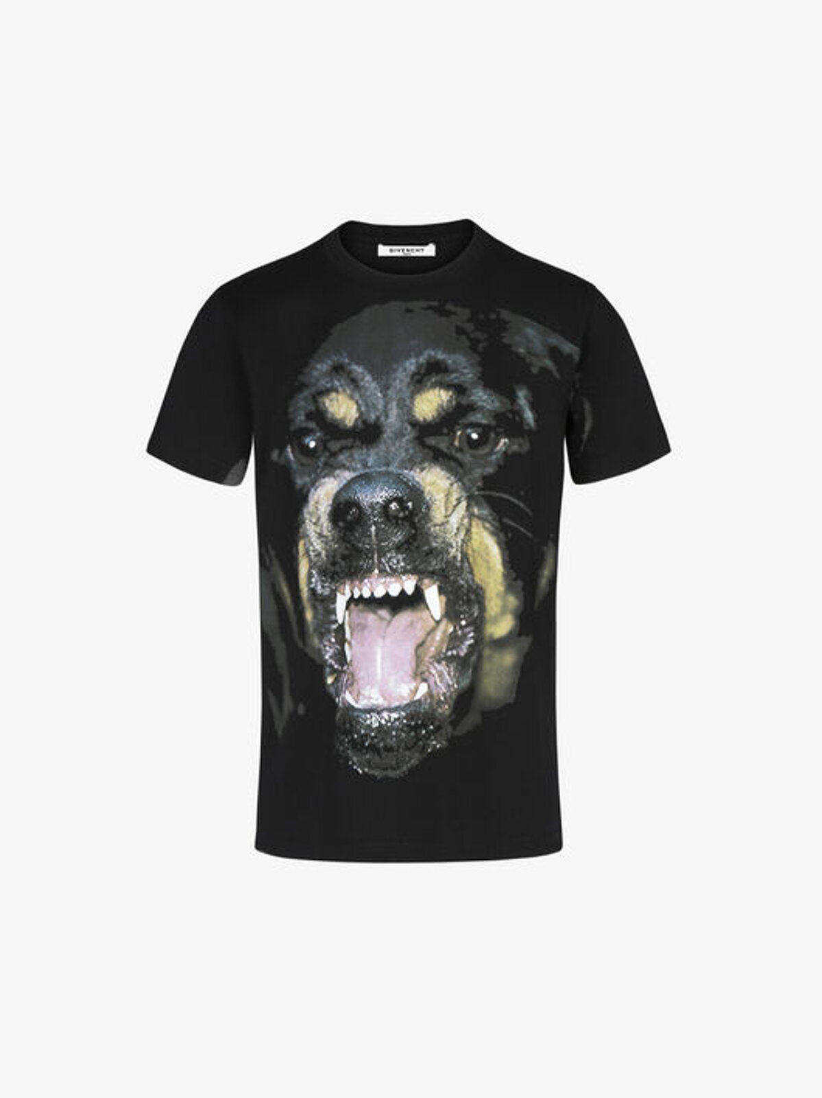 T-Shirt Oversize Con Stampa Rottweiler - Givenchy