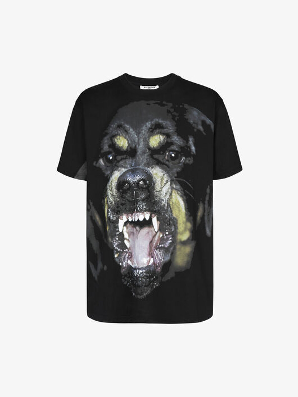 Oversized T-shirt with Rottweiler print - Givenchy