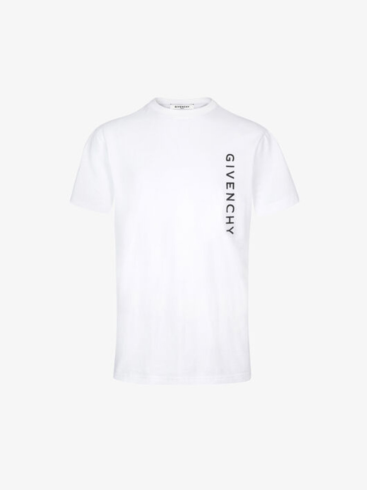 Slim fit T-shirt with GIVENCHY signature - Givenchy
