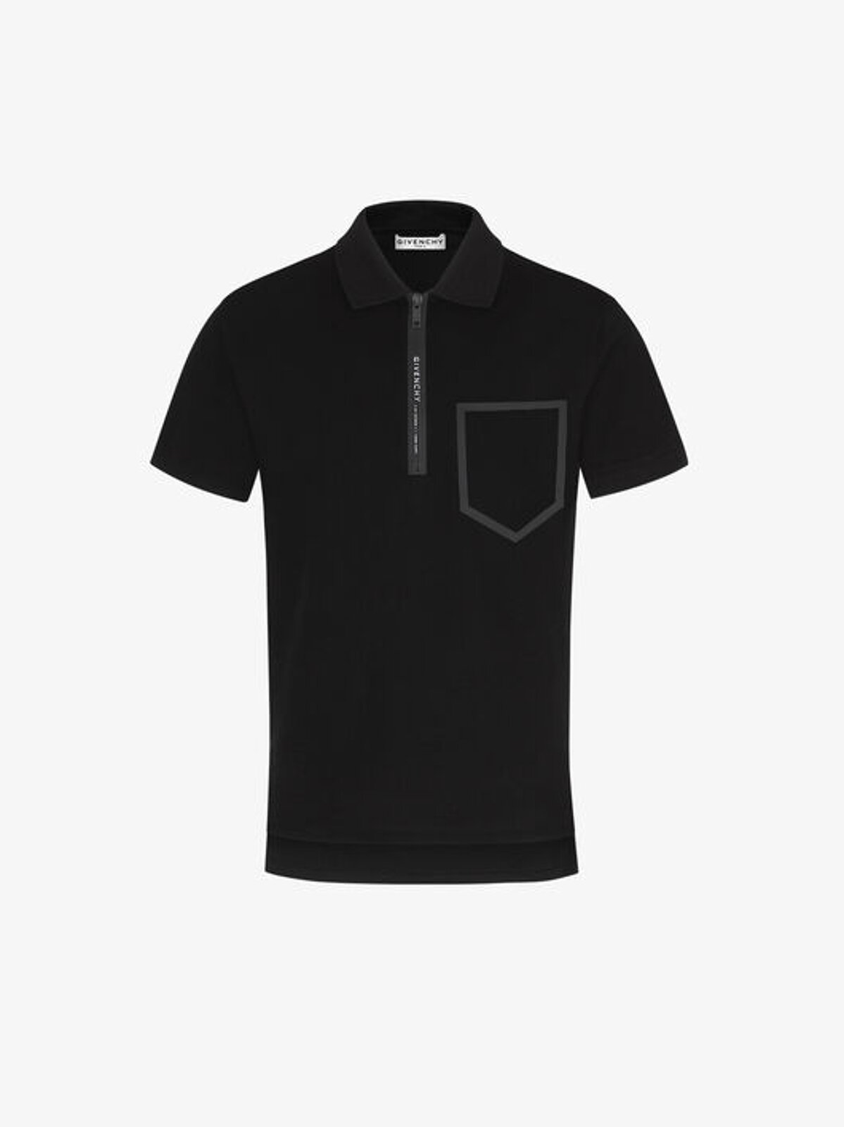 Slim polo shirt with GIVENCHY Adresse stripe - Givenchy