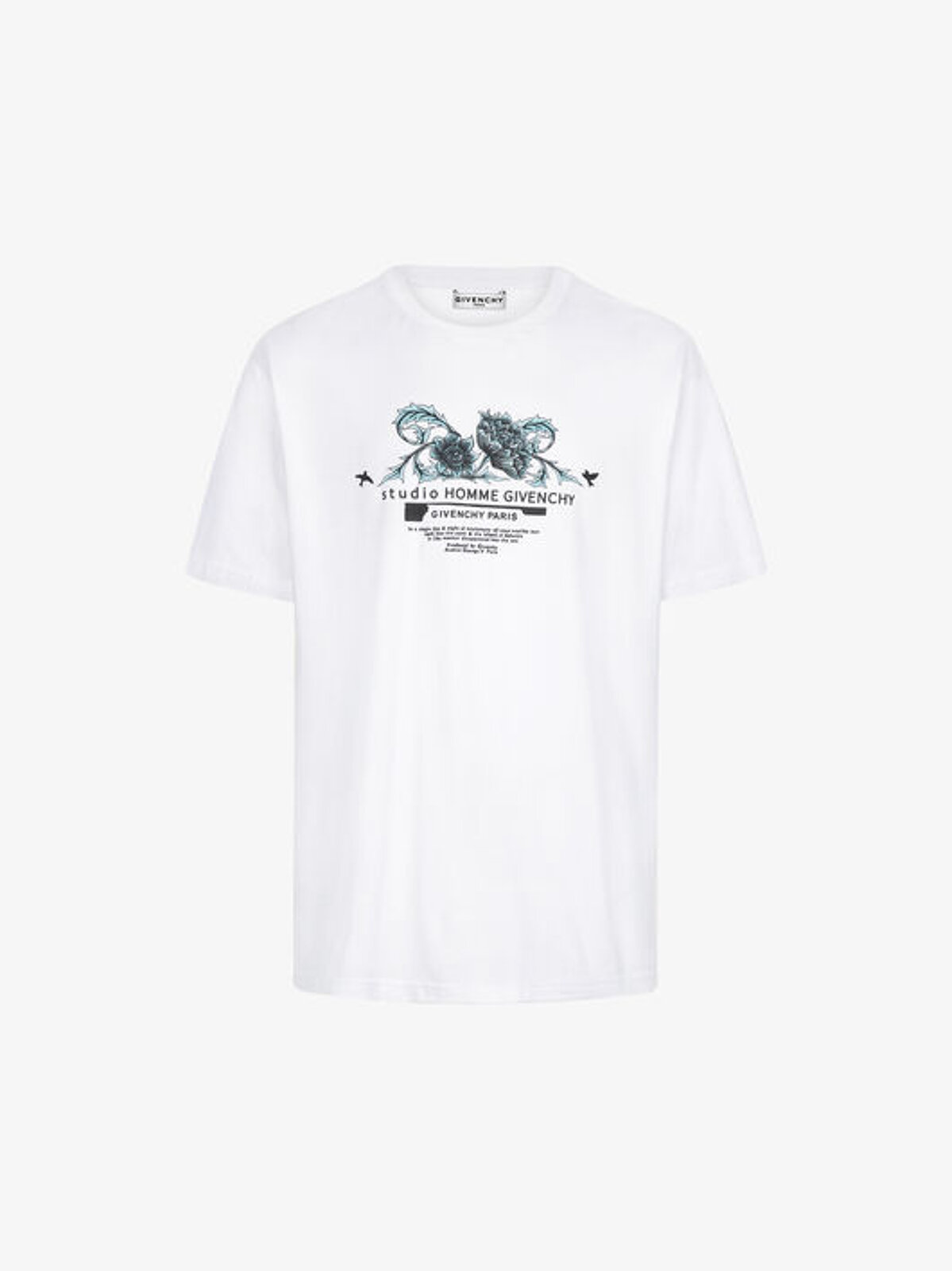 Studio Homme floral print T-shirt - Givenchy