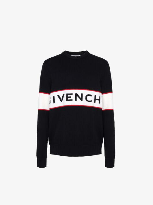 Pullover Pesante Con Striscia Givenchy - Givenchy