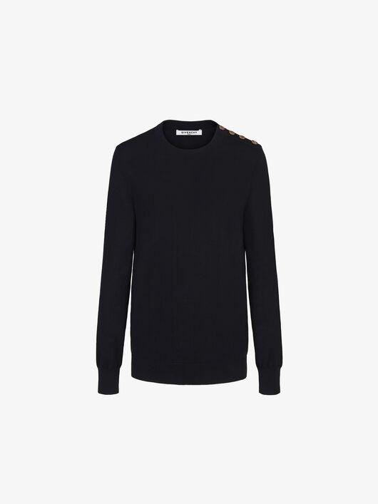 Pullover Con Bottoni 4G - Givenchy