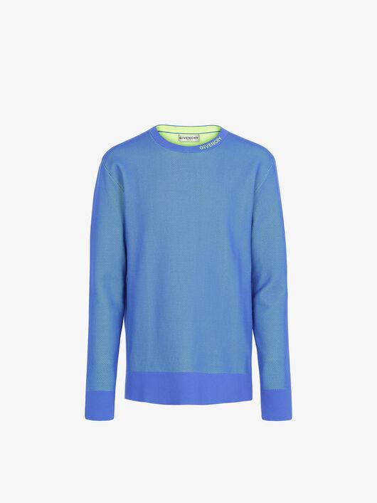 Pullover In Maglia Givenchy Effetto Rete - Givenchy