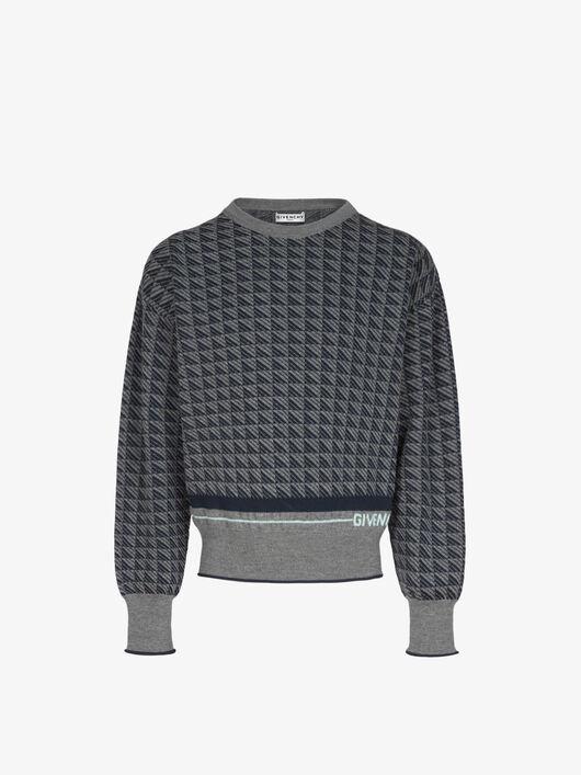 Pullover GIVENCHY con motivo geometrico - Givenchy