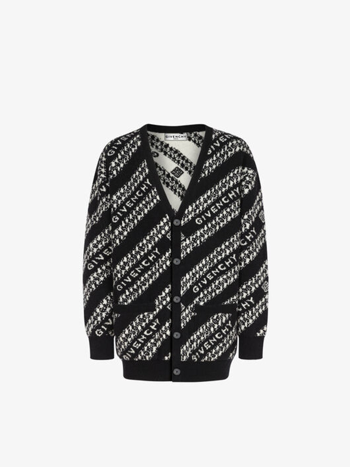 Cardigan Givenchy Chaîne In Jacquard - Givenchy