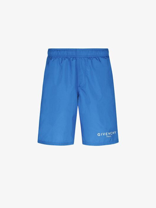 GIVENCHY PARIS long swim shorts - Givenchy