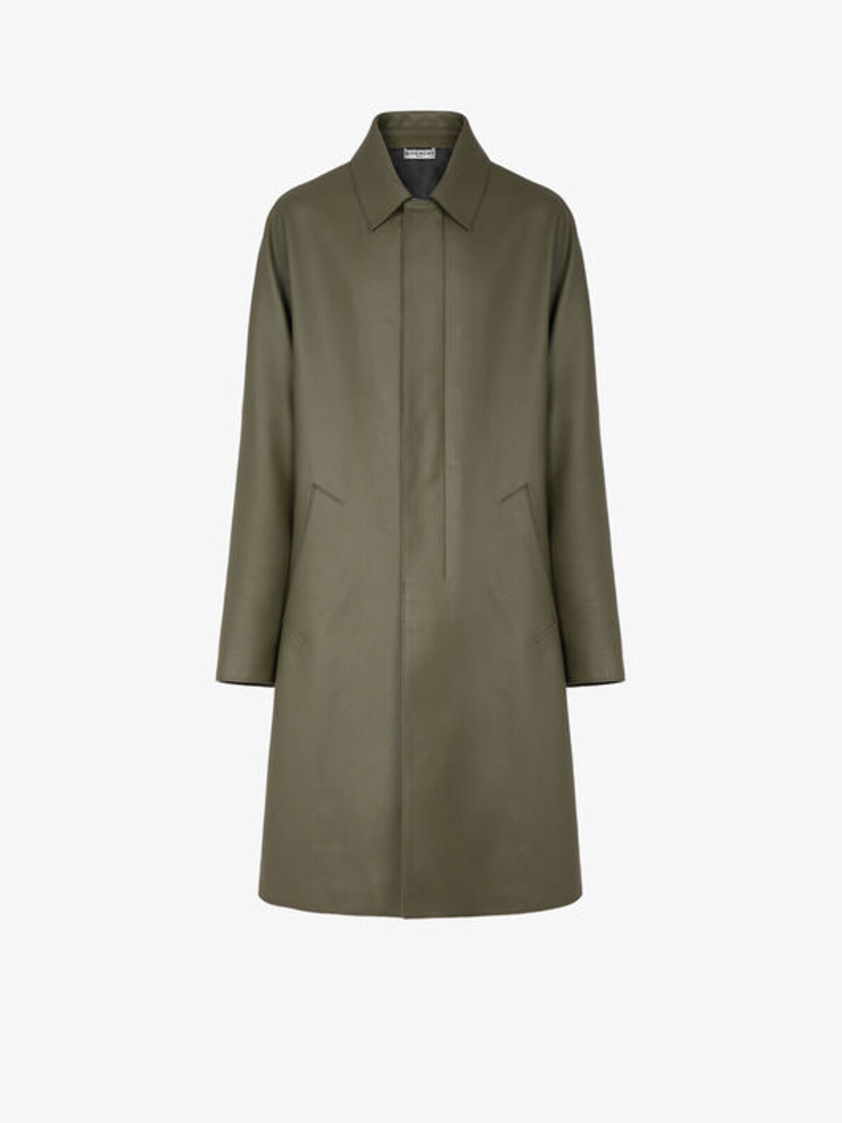 GIVENCHY coat in leather - Givenchy