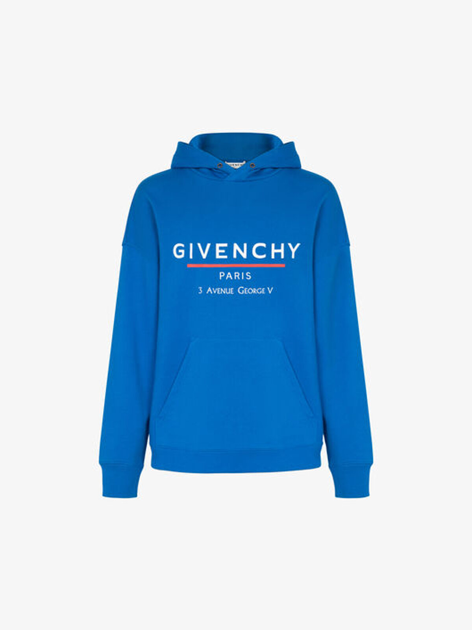 Felpa Con Cappuccio Givenchy Label - Givenchy