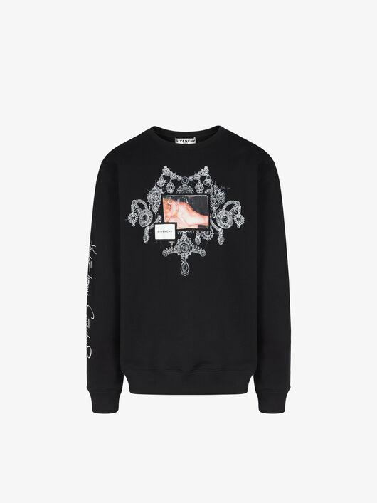 Felpa Studio Homme con applicazioni - Givenchy