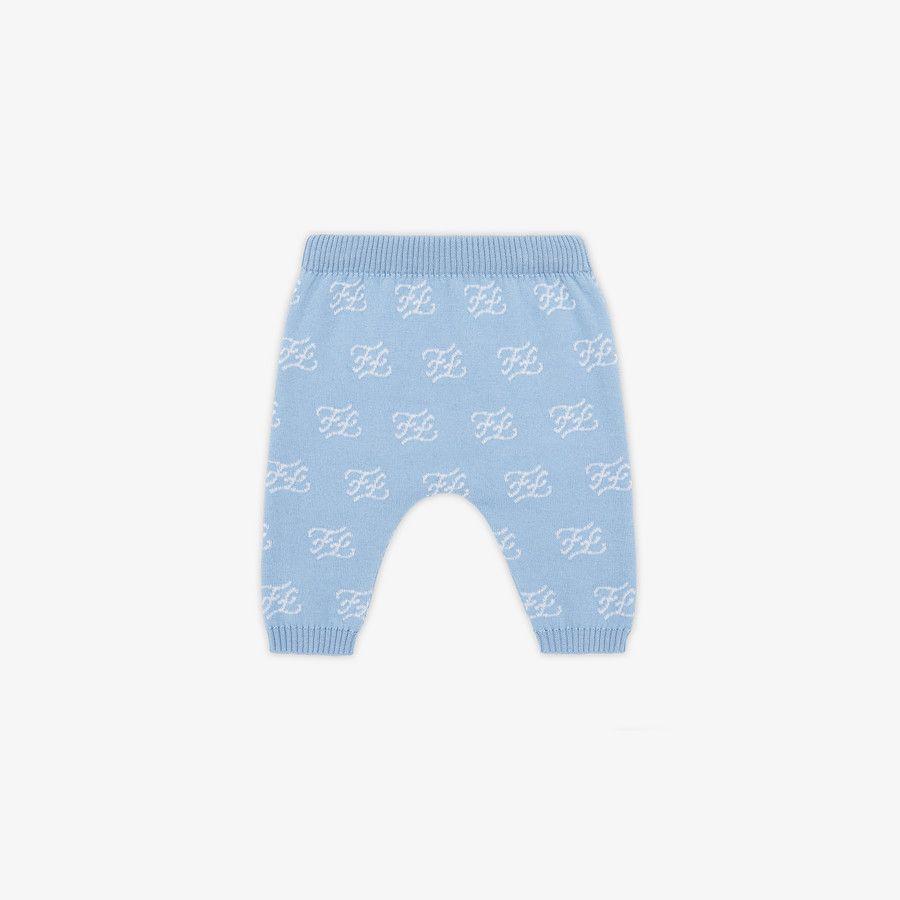 Pantalone In Maglia Baby - Fendi Junior