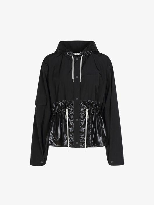 Giacca A Vento Givenchy In Nylon Opaco E Lucido - Givenchy