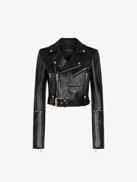 Giacca Stile Biker Con Borchie - Givenchy