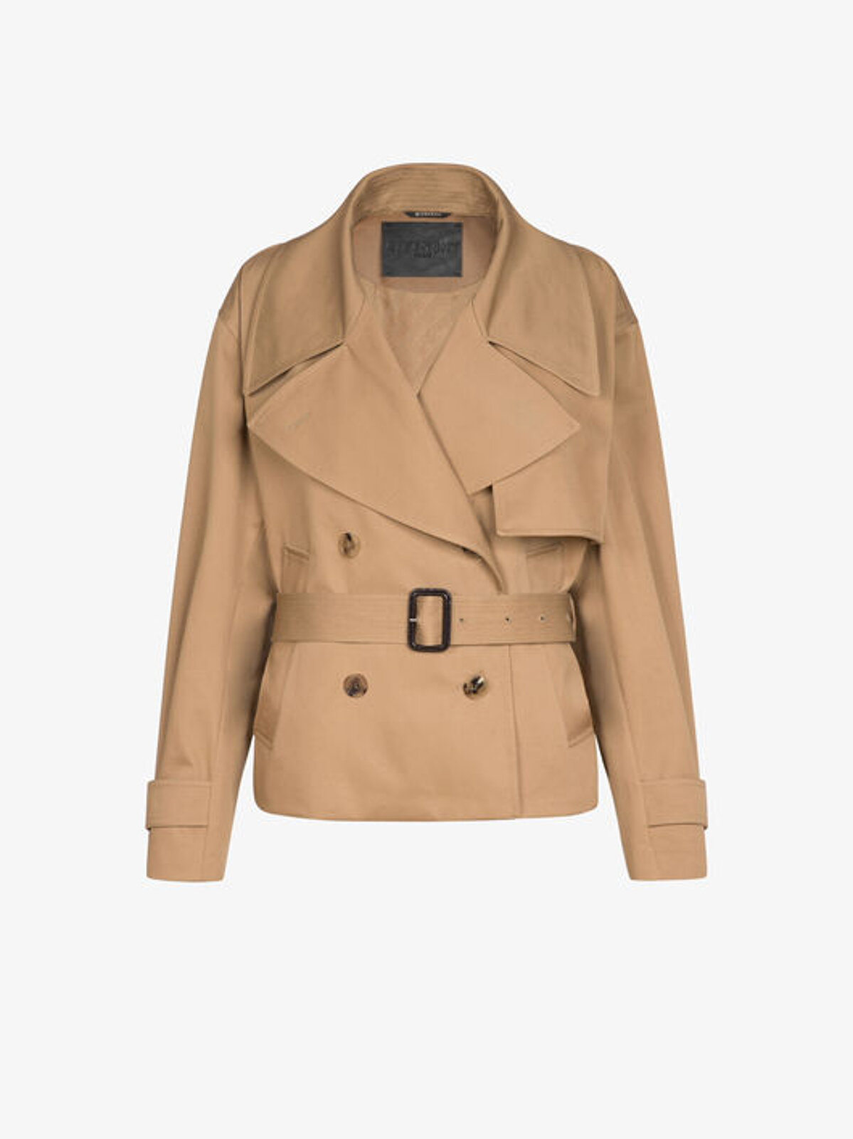 Short Trench Coat In Cotton Gabardine - Givenchy