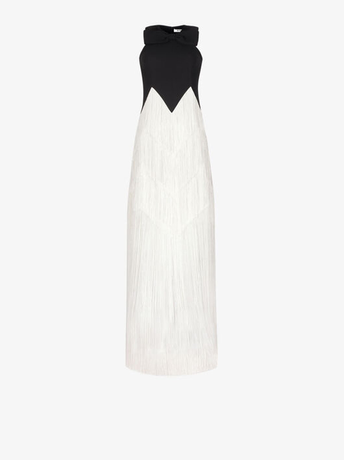 Evening Dress With Fringes - Givenchy