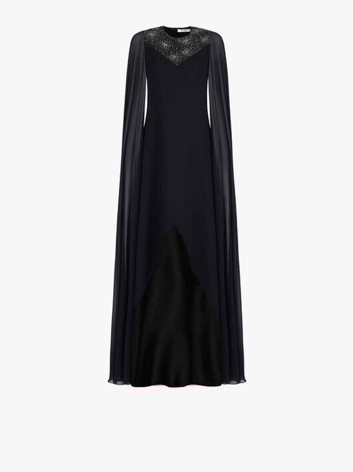 Dress With Cape Sleeves And Front - Givenchy