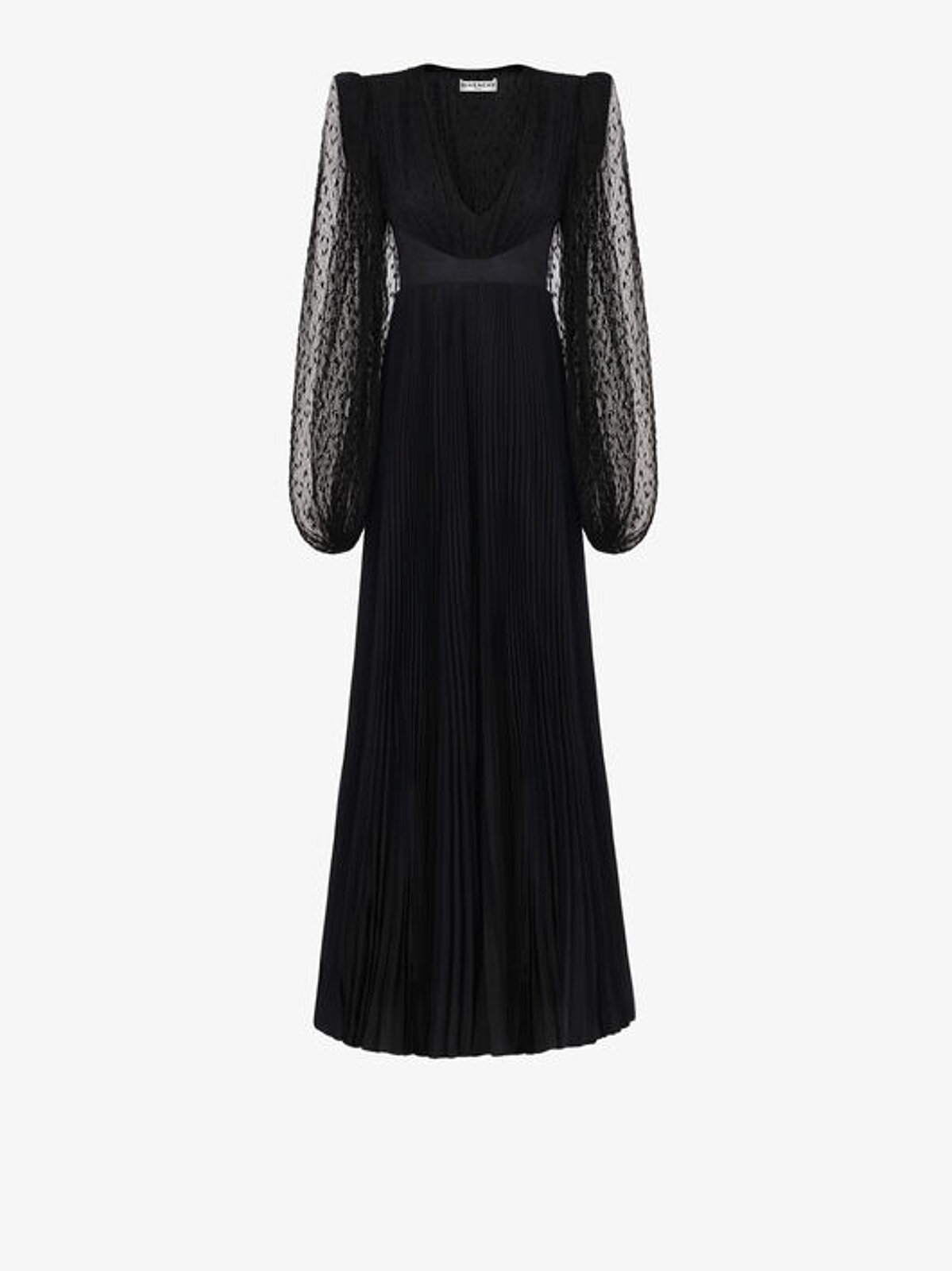 Evening Dress In Silk And Lace - Givenchy