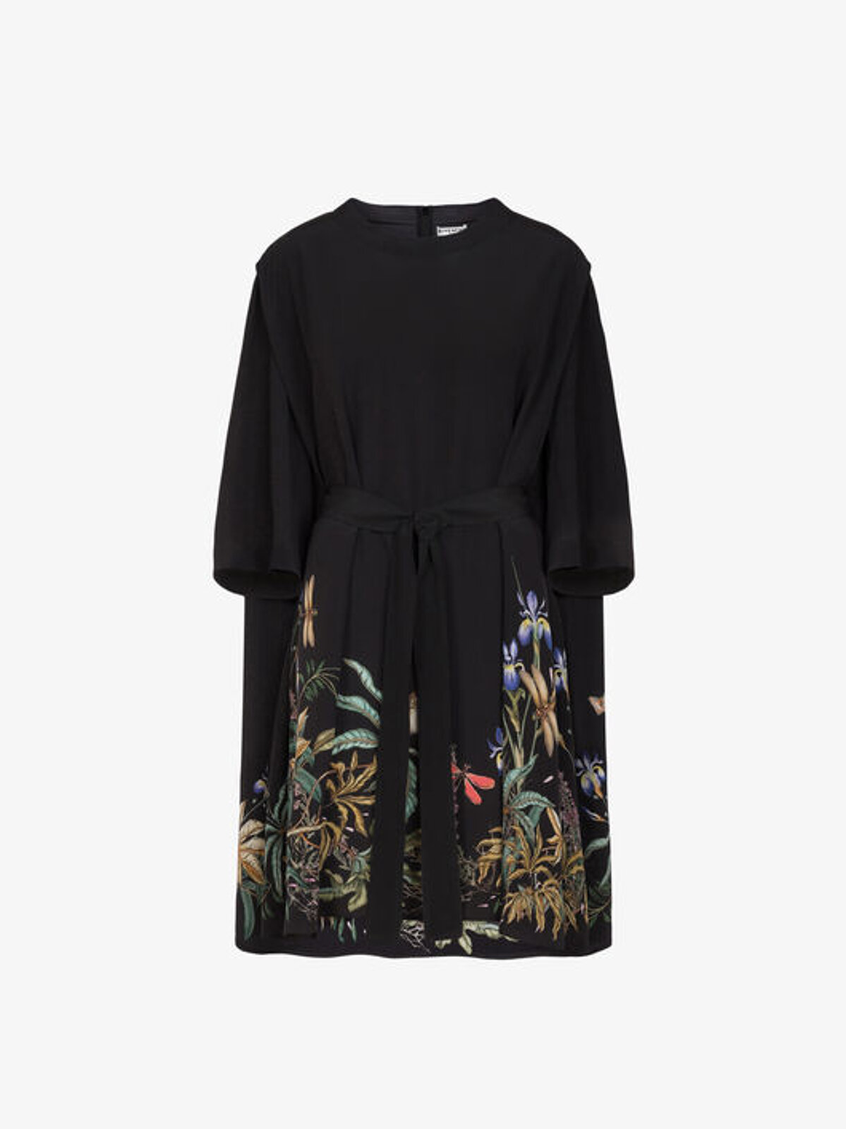 Floral T-Shirt Dress With Belt - Givenchy