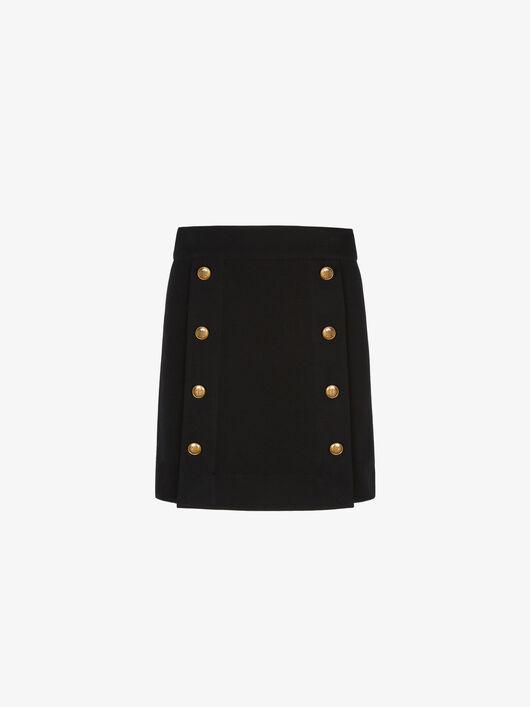 Minigonna Con Bottoni 4G - Givenchy