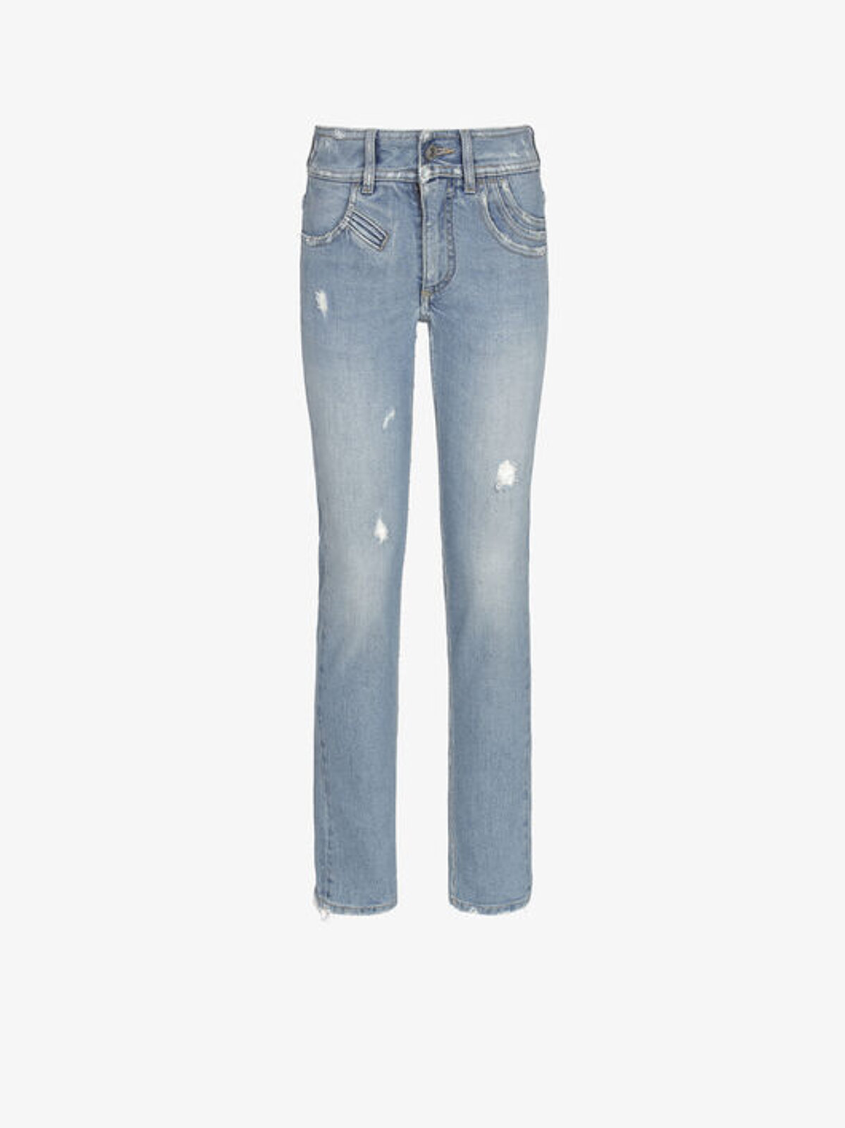 Jeans Slim Fit Multitasche Effetto Destroyed - Givenchy