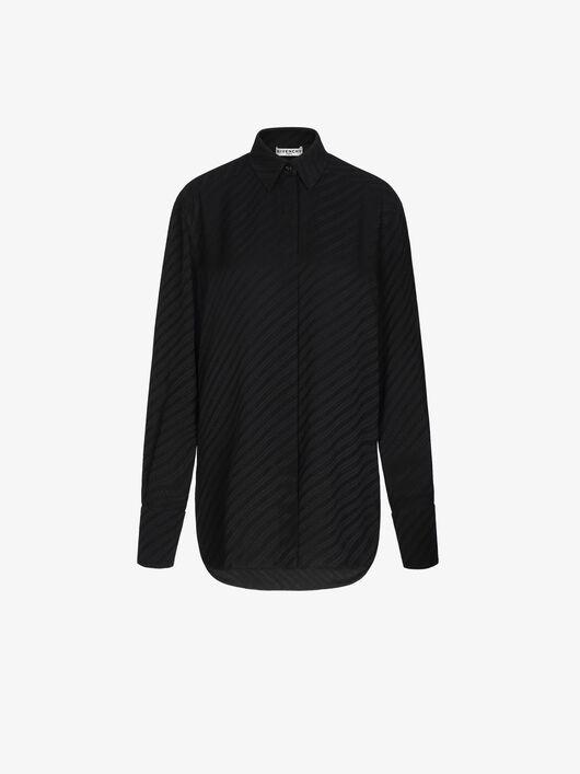 Camicia Givenchy Chaîne In Jacquard Di Seta - Givenchy