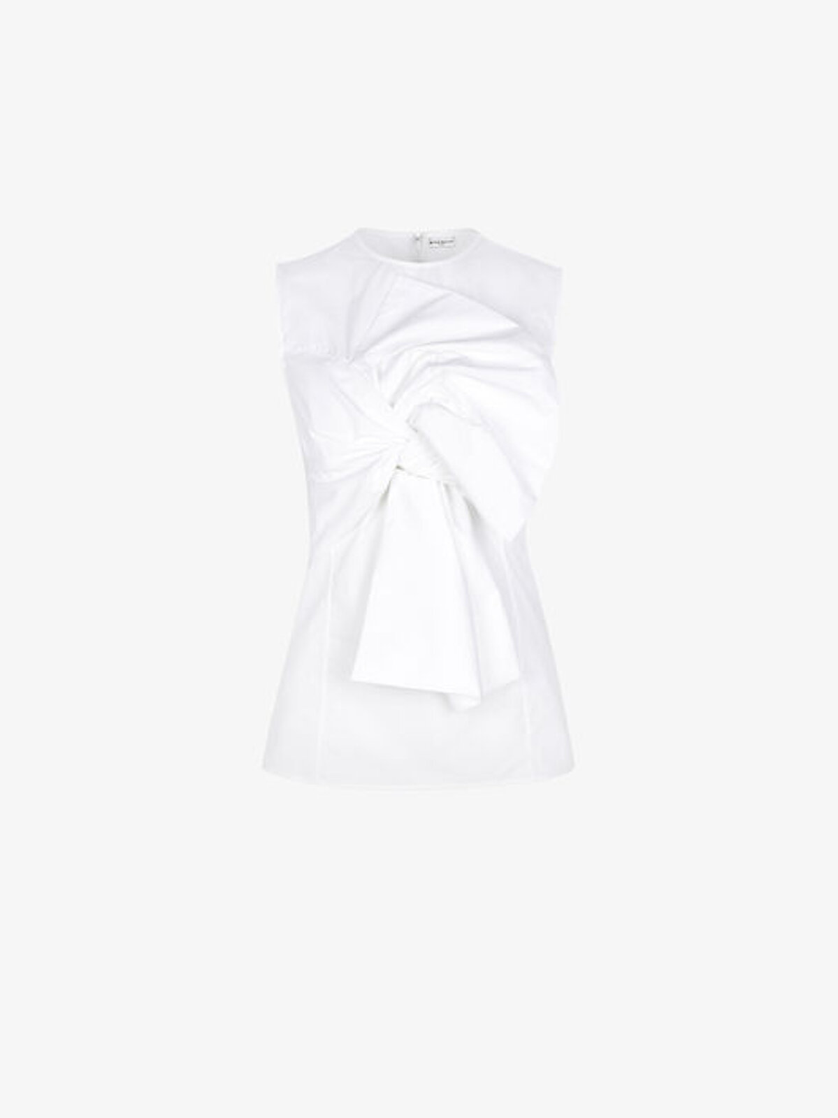 Sleeveless Top With Oversize Bow - Givenchy