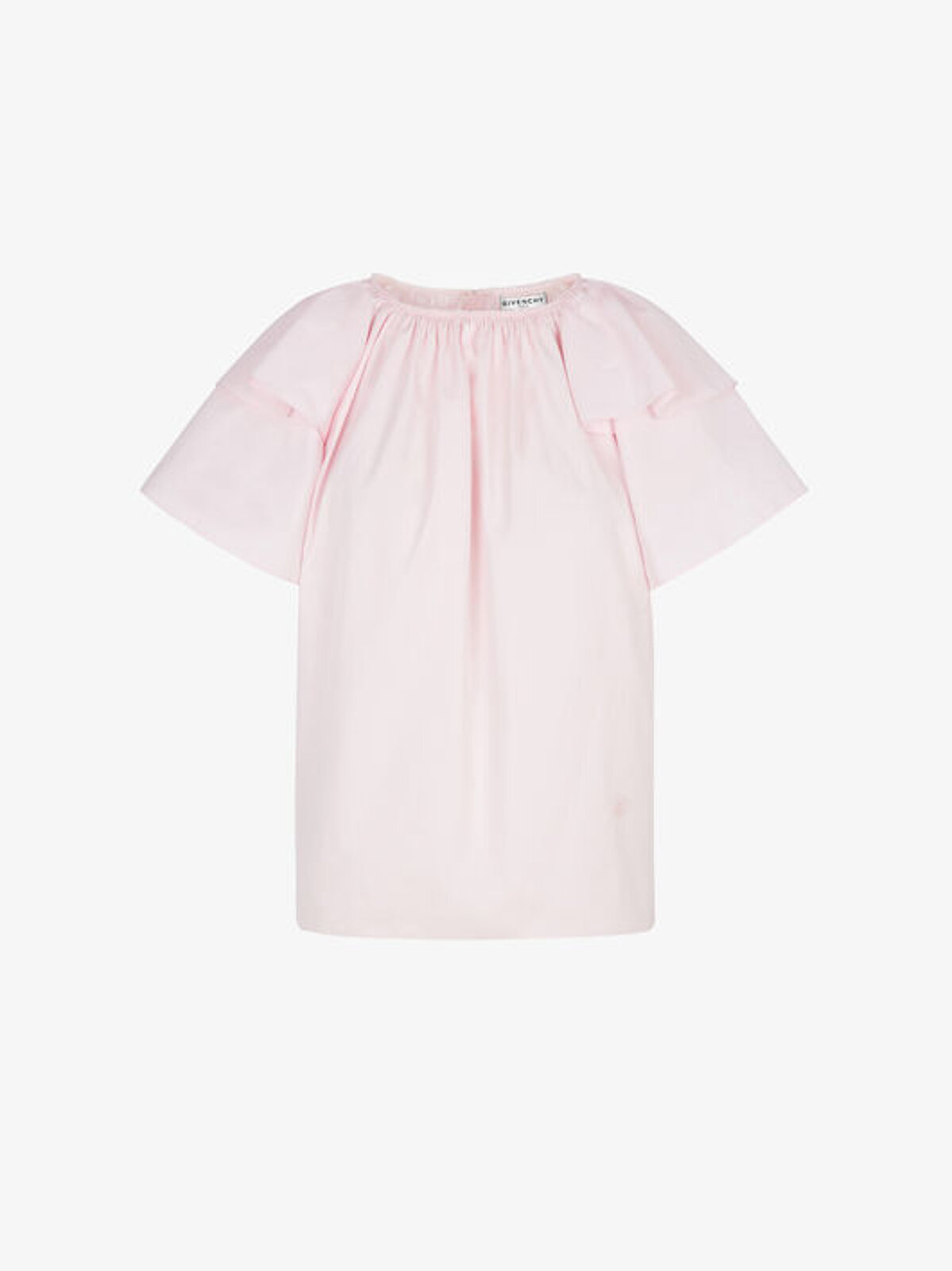 Cotton Blouse With Puff Sleeves - Givenchy