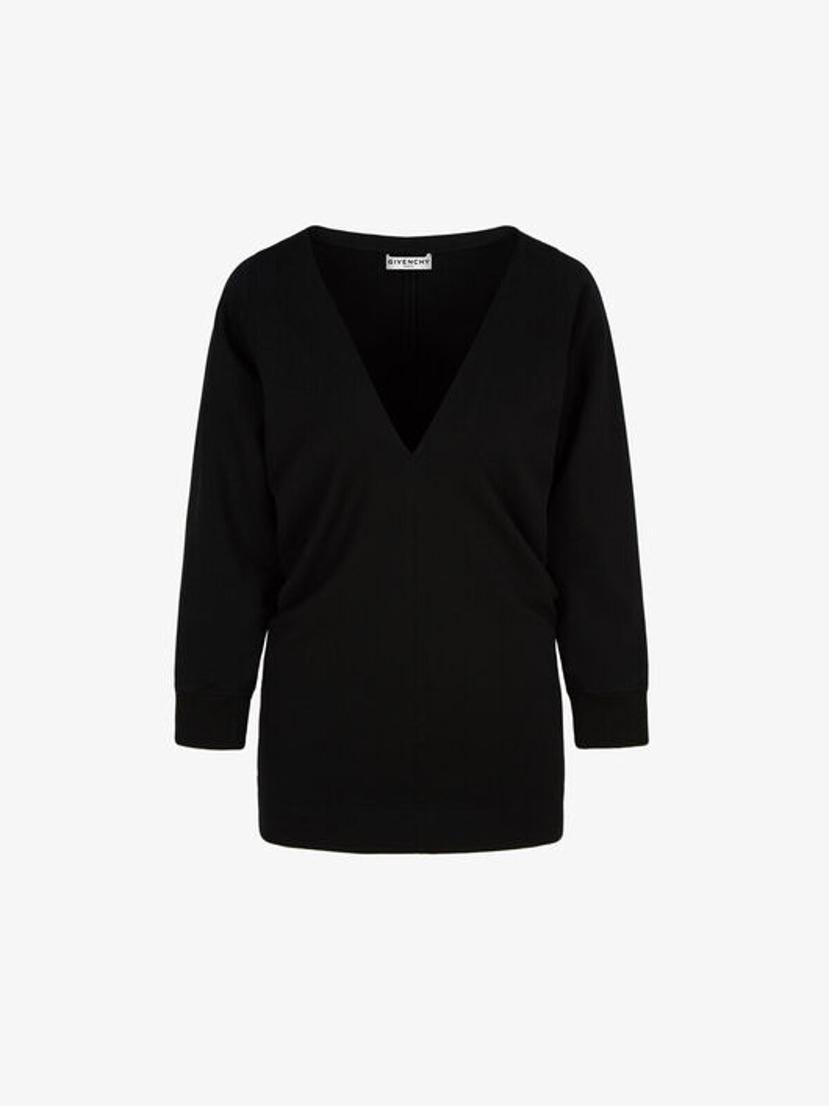 Shirred Top With V-Neckline - Givenchy