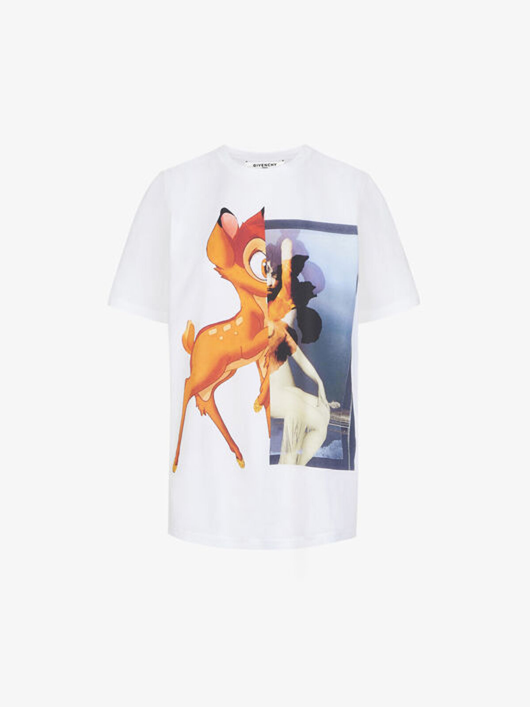 T-Shirt Con Stampa Bambi - Givenchy