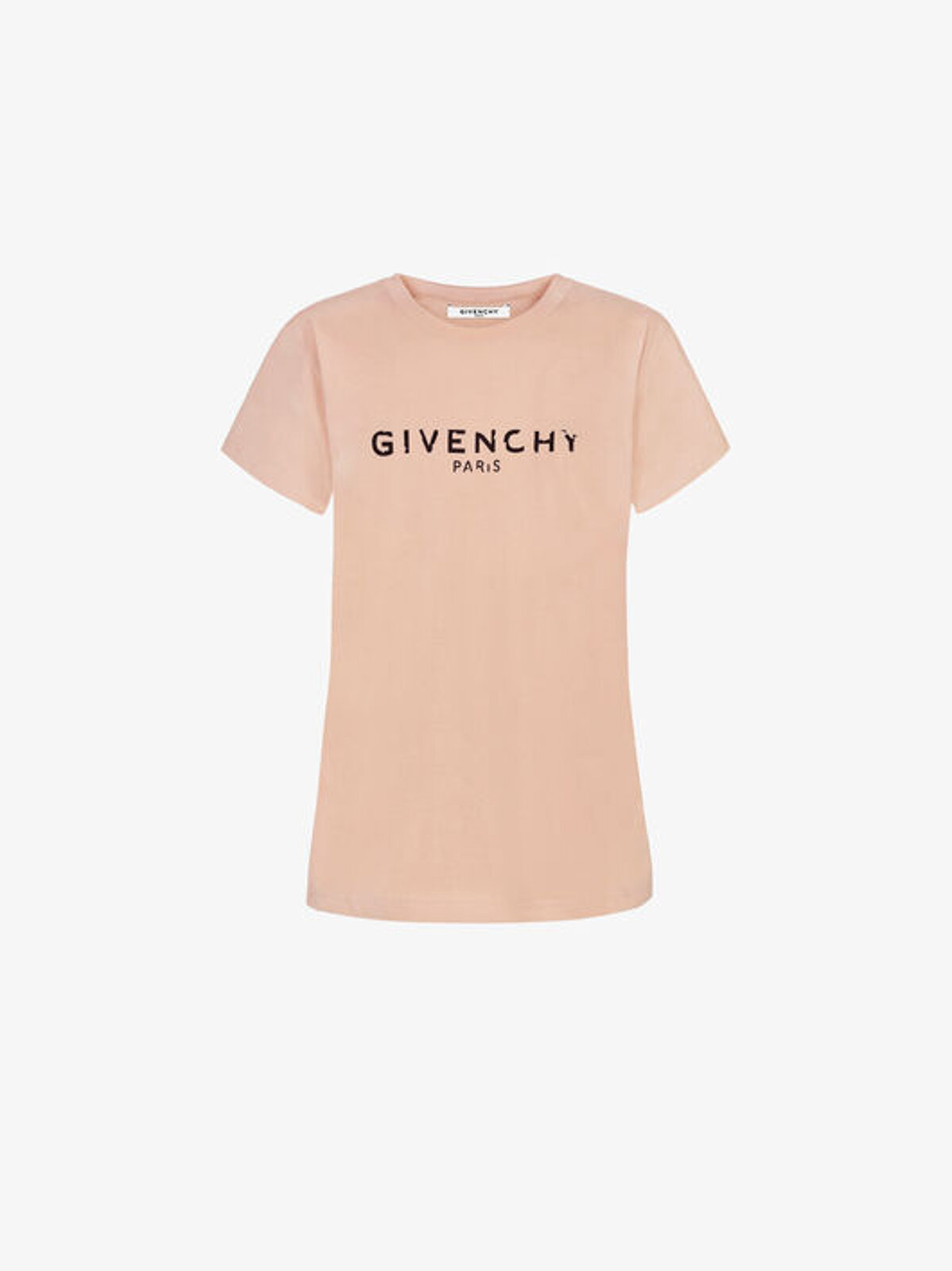 T-Shirt Aderente Con Stampa Icare - Givenchy