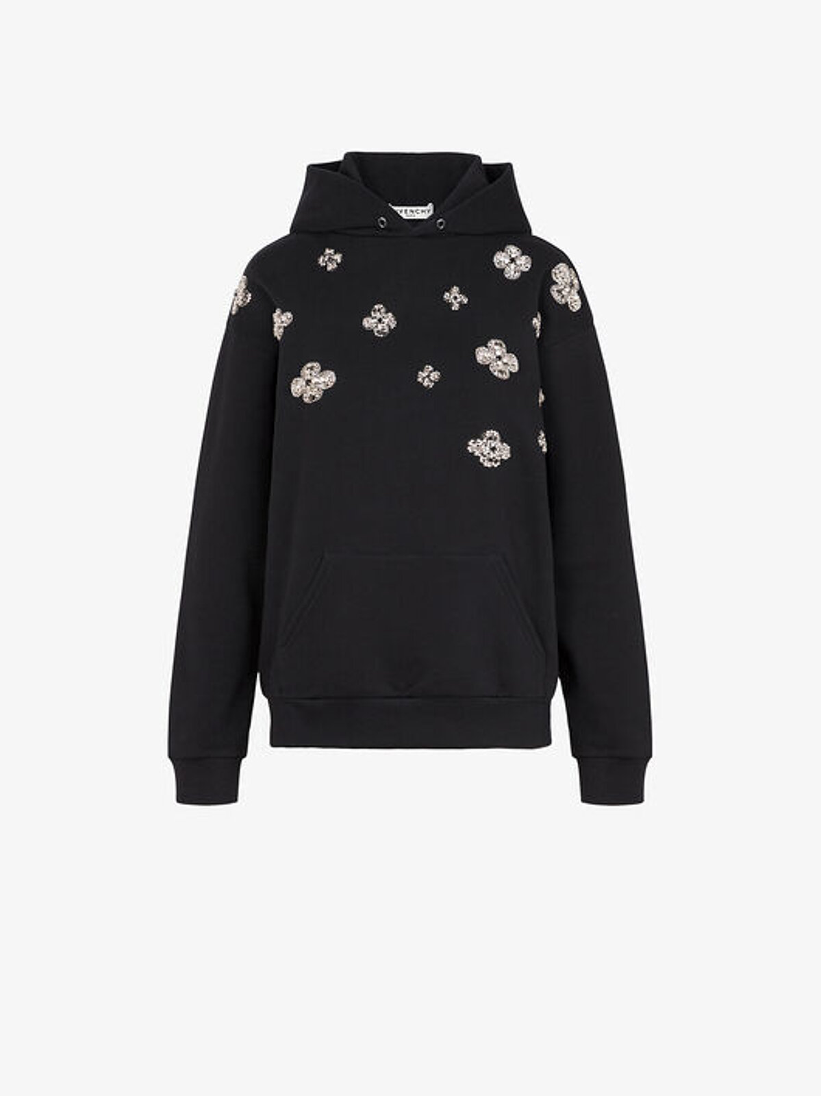 Sweatshirt With Floral Embroidery Givenchy - Givenchy