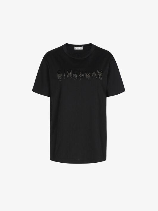 T-Shirt Con Ricamo Givenchy Dégradé - Givenchy