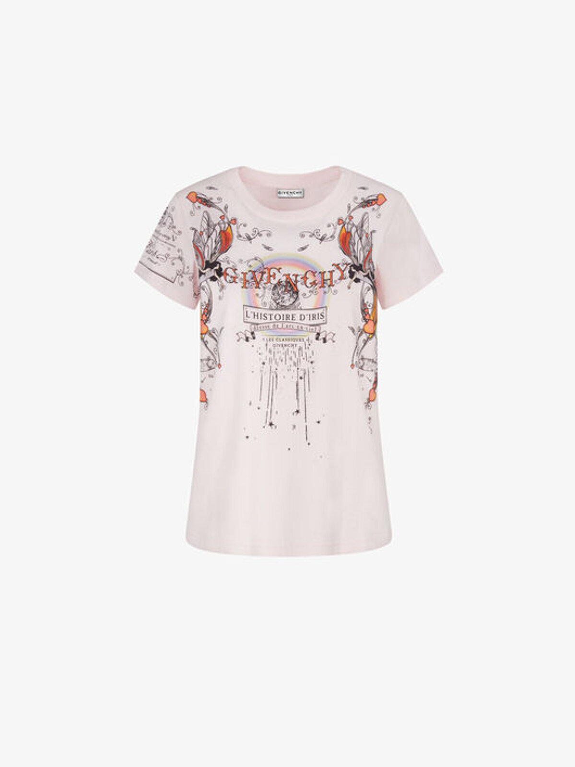 T-Shirt Slim Fit L?Histoire D?Iris - Givenchy