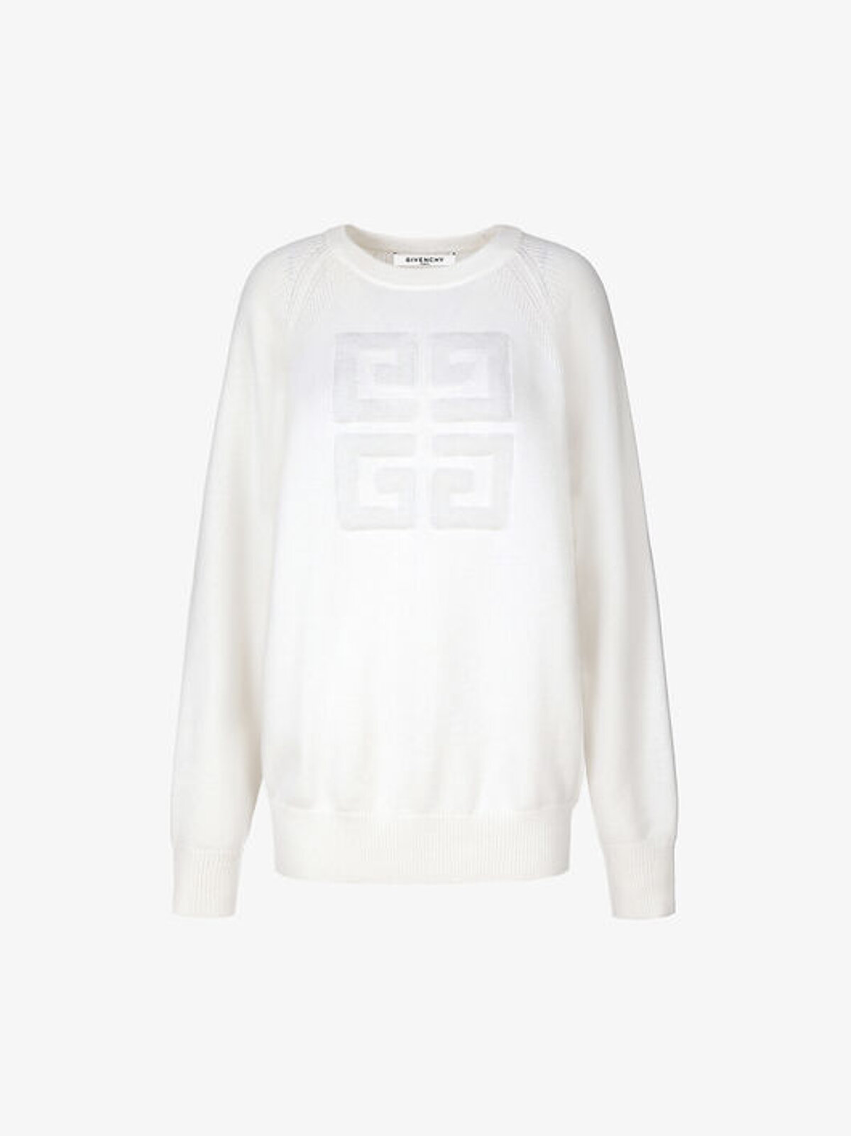 Cashmere Pullover With 4G Logo - Givenchy