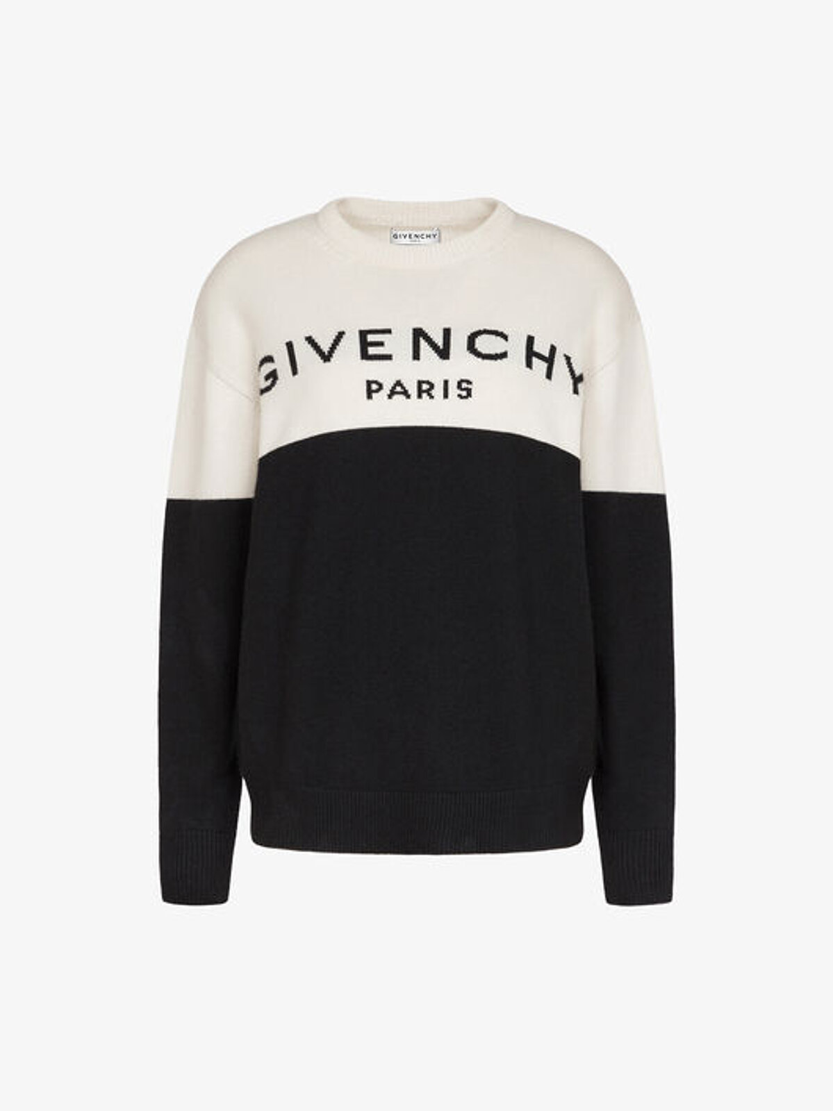 Two-tone Cashmere Pullover - Givenchy