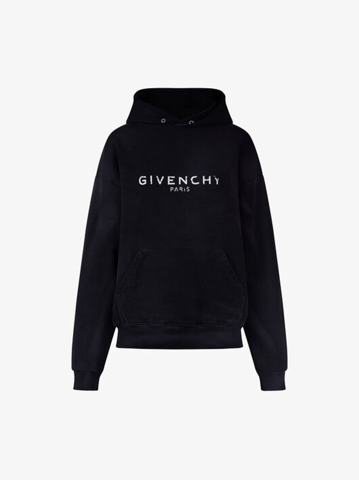 Printed Hooded Sweatshirt - Givenchy