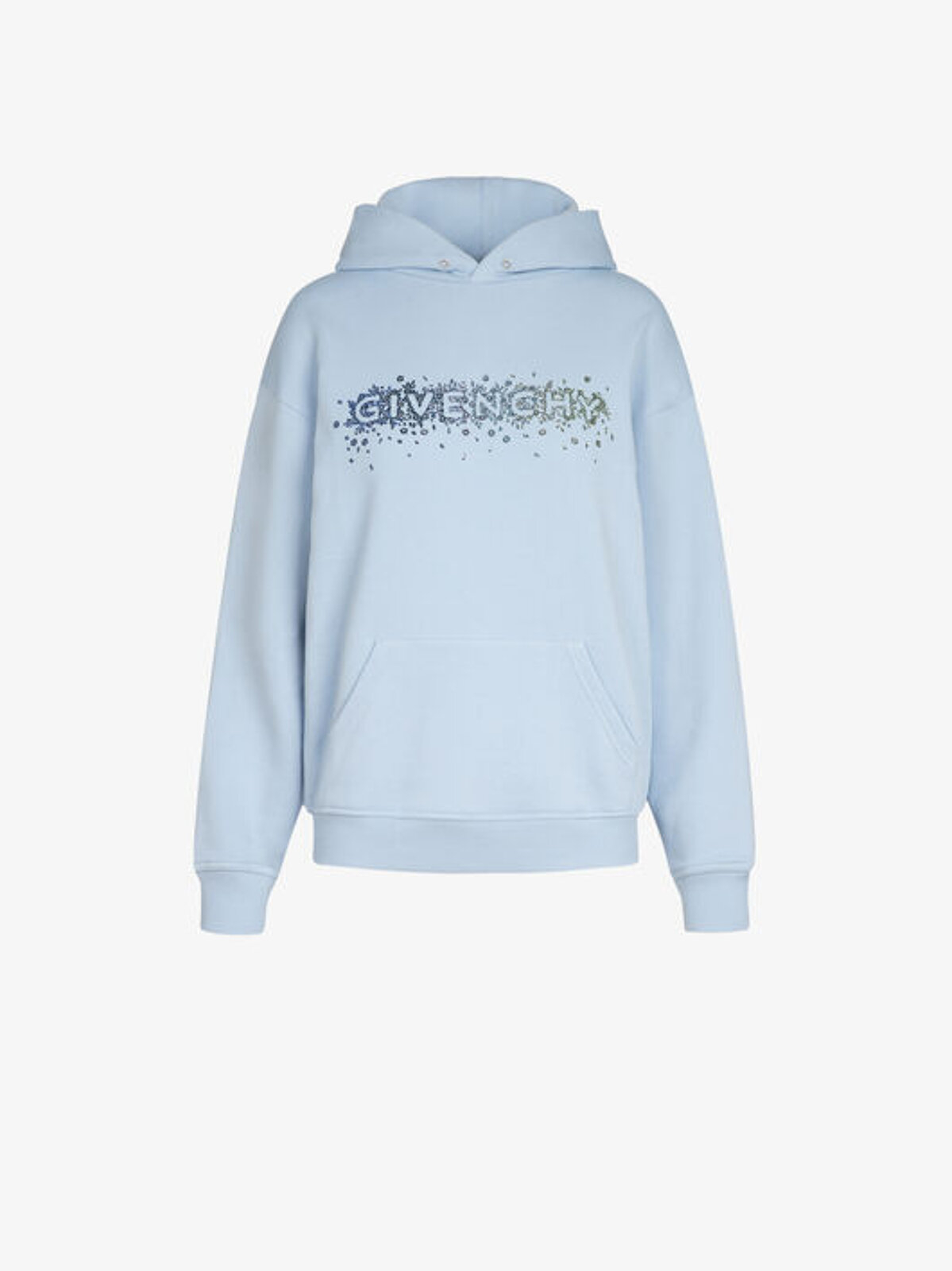 Givenchy Sweatshirt With Crystal Embroidery - Givenchy