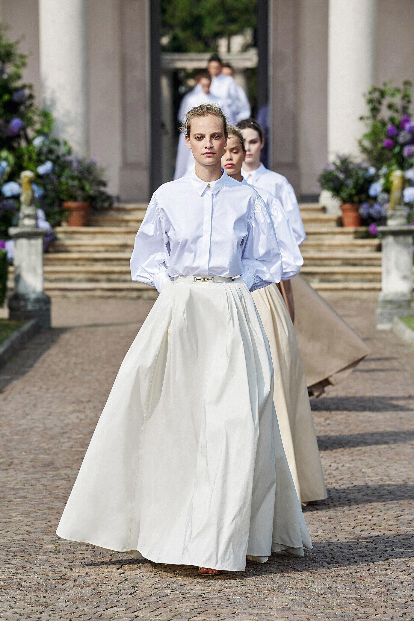 Camicia Con Maniche A Sbuffo - Elisabetta Franchi