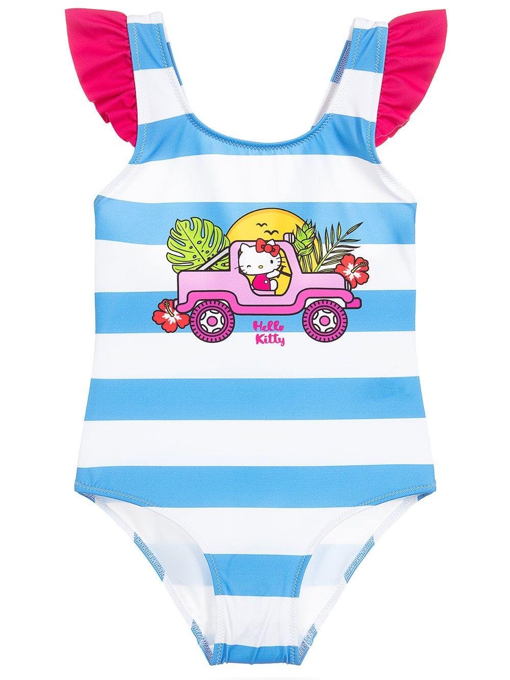 Costume Intero Da Bambina Driving Hello Kitty® - Edizione Speciale - MC2 Saint Barth Junior