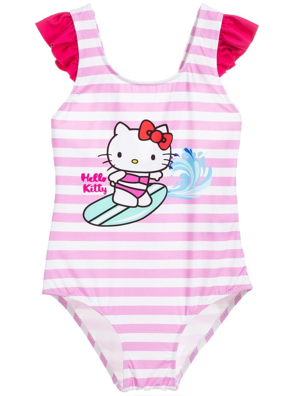 Costume Intero Da Bambina Surfing Hello Kitty® - Edizione Speciale - MC2 Saint Barth Junior