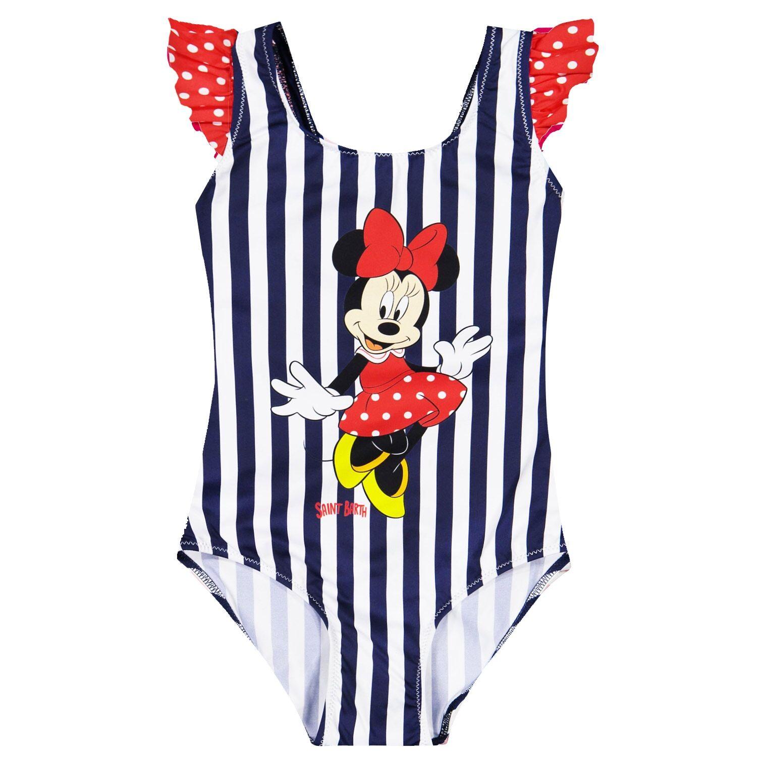 Disney© Costume Da Bimba Intero Stampa Minnie - MC2 Saint Barth Junior