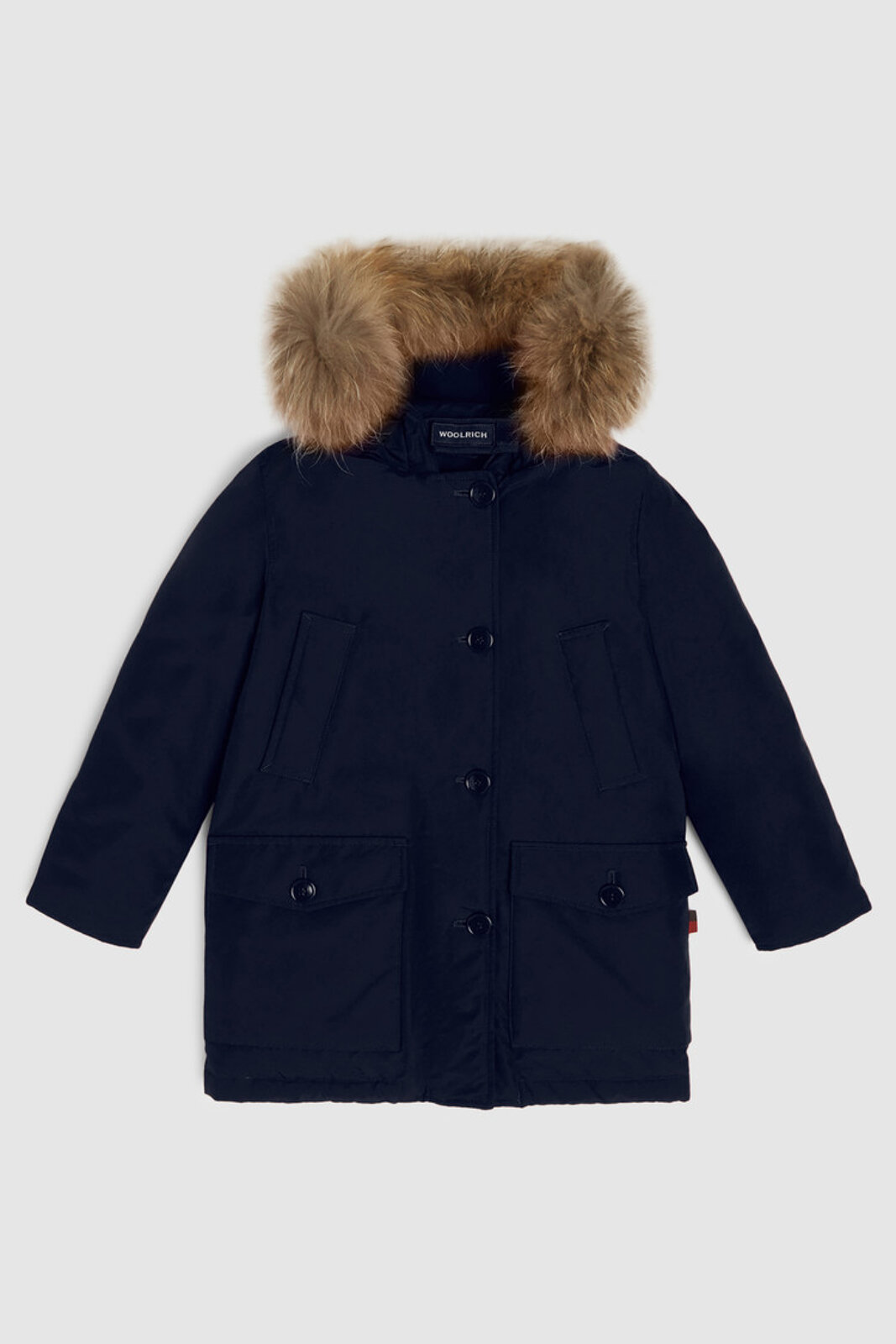 Parka Pelliccia Staccabile - Woolrich Junior