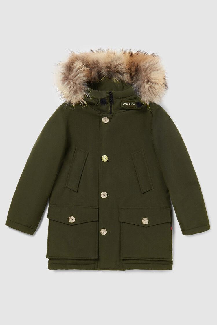 High Neck Arctic Parka - Woolrich Junior