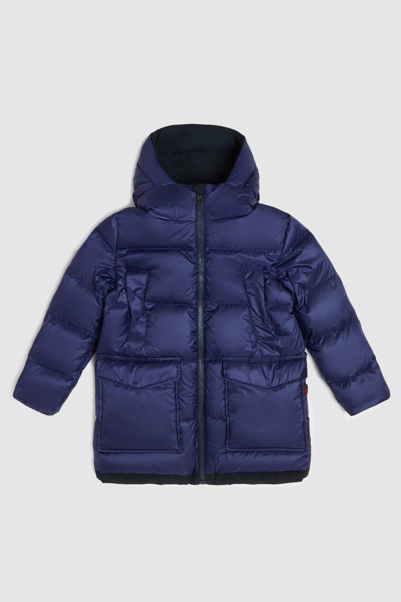Reversible fur-free parka - Woolrich Junior